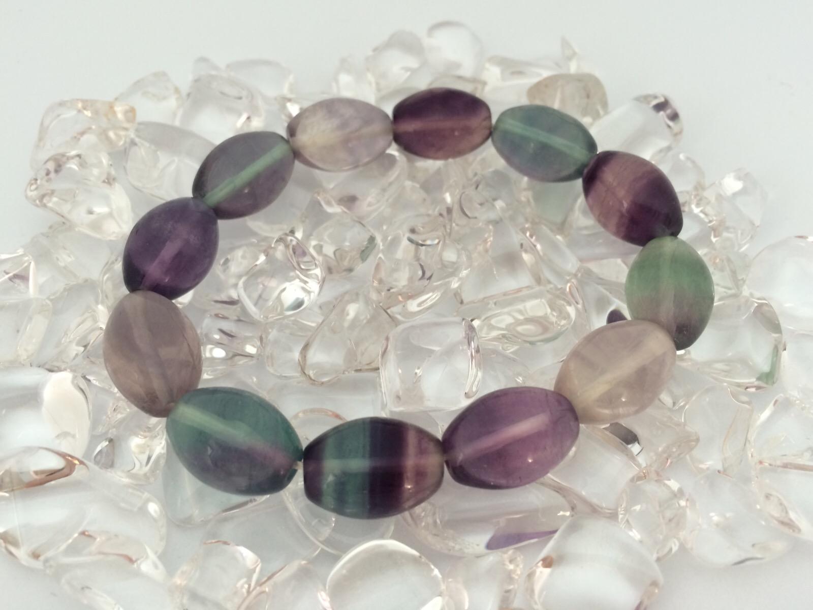フローライトは精神性を高め負のエネルギーを洗い流す天然石